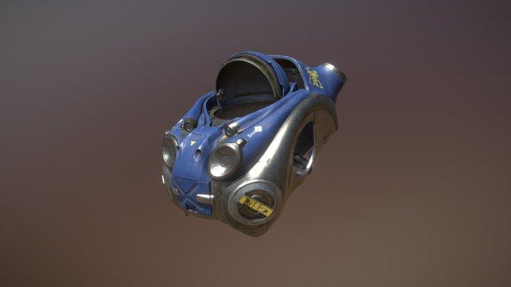 SC2 Marine torso 3D Model