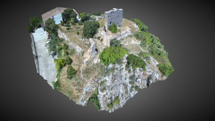 Castillo de Otonel (Cortes de Pallás) 3D Model