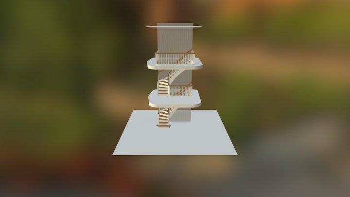 CurvedHighString 3D Model