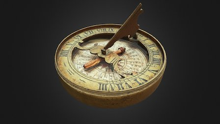 Roger Williams' Compass 3D Model