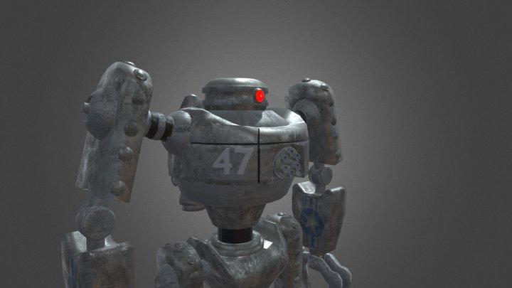 robo47 (War of the monsters) 3D Model