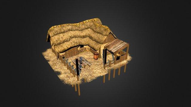 Gaul Inn 3D Model