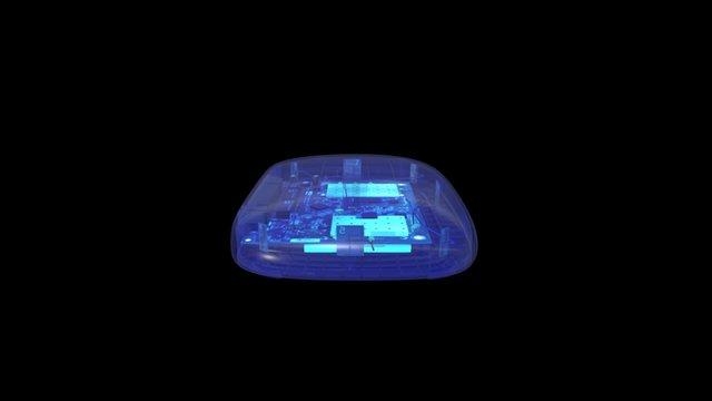 PORTAL 1 Inside xray 3D Model