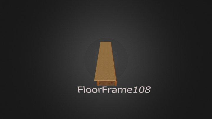 FloorFrame108 3D Model