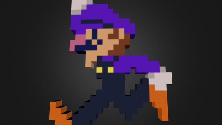 Waluigi2.zip 3D Model