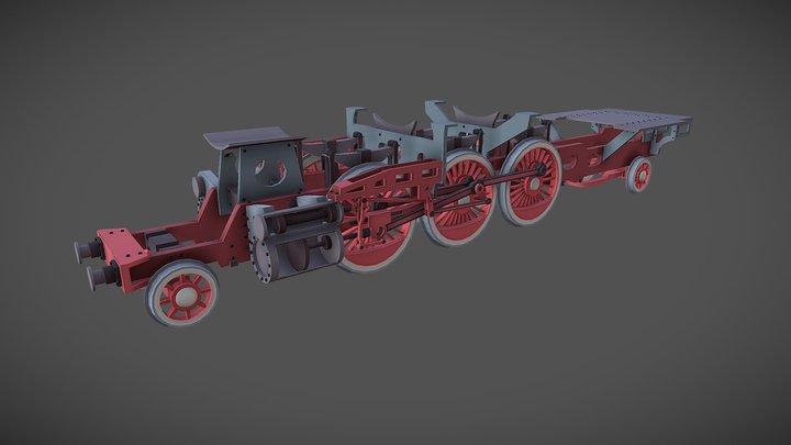 Locomotive 3D Model
