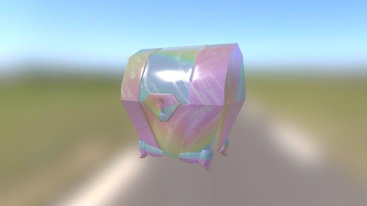 Chest Model 3D Model