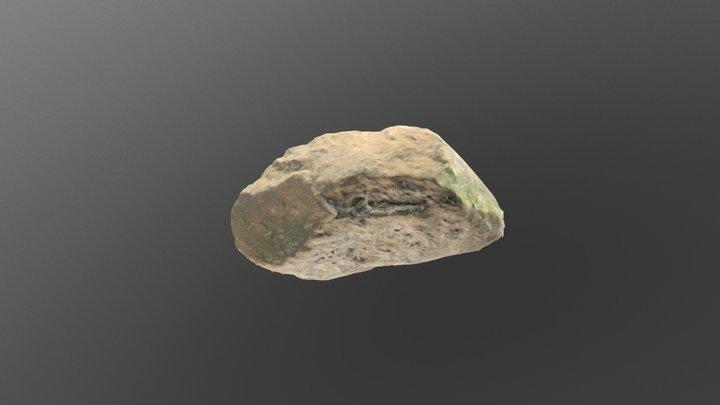 Yellow Rock 3D Model