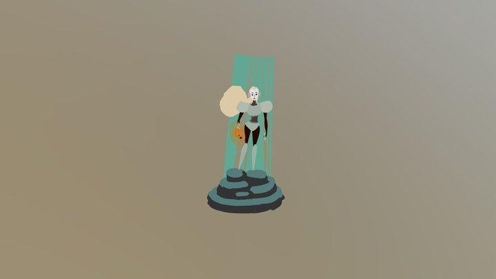 Fembot 3D Model