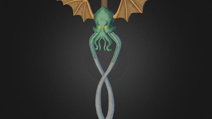 Cthulhu Sword 3D Model