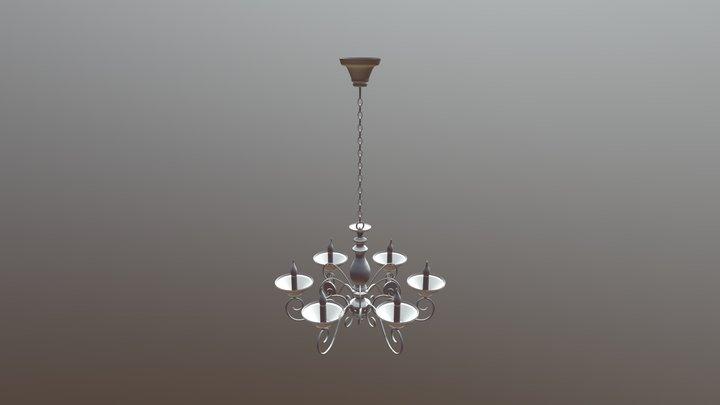 Люстра Artelamp A2061LM-6WG 3D Model
