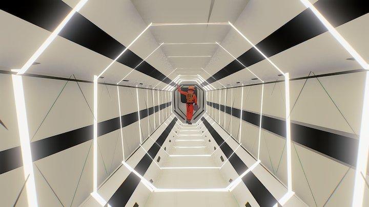 Karel Cettl - Space Oddysey Tilt Brush 3D Model