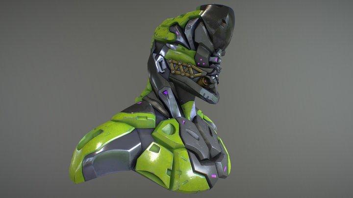 I.O. Cyborg 3D Model