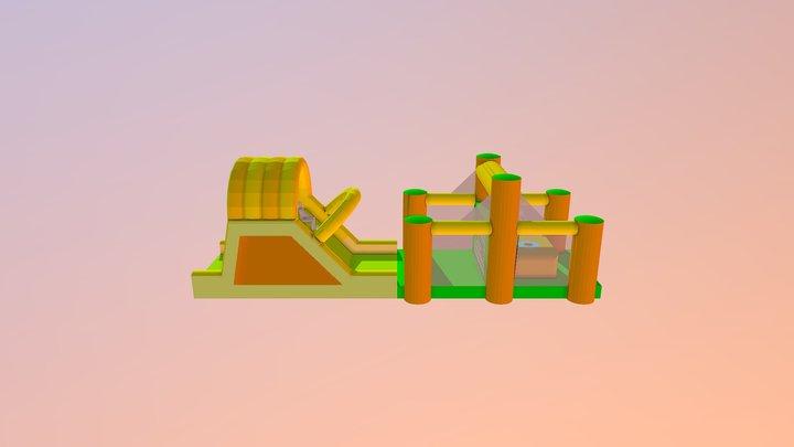Jump And Slide 3D Model