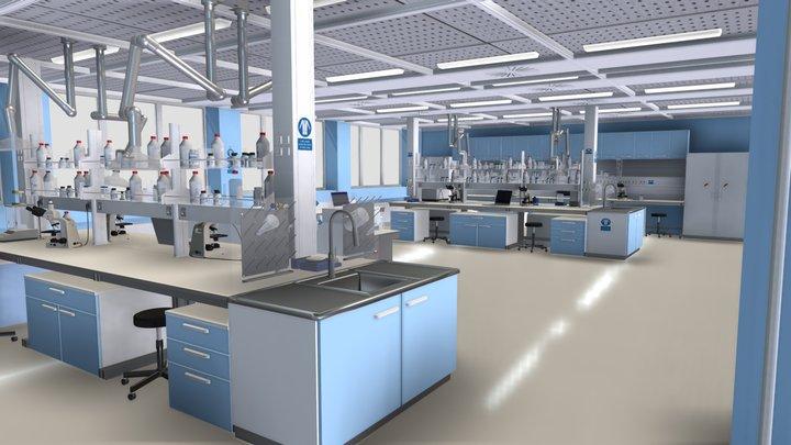 wet science lab 3D Model