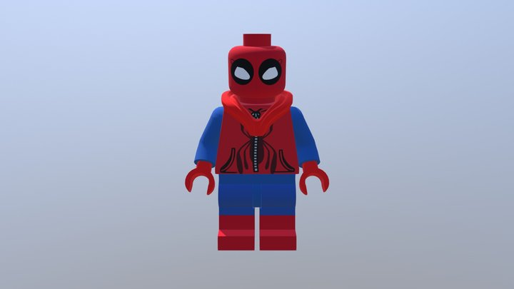 Spider-Man: Homecoming, Homemade Suit 3D Model