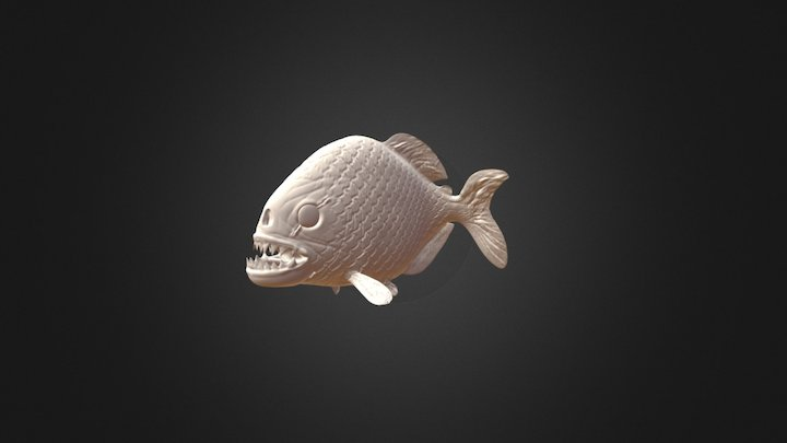 Piranha [1st time modeling] 3D Model
