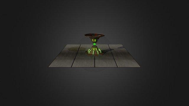 Energyfont 3D Model