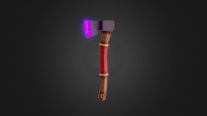 Fantasy axe 3D Model
