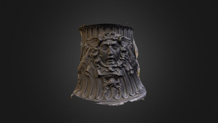 Detail from Flagpole 3D Model