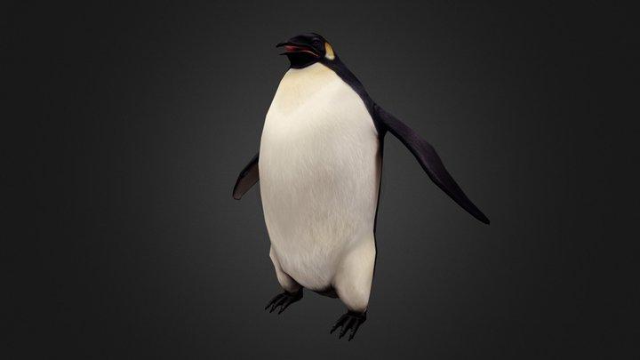 Dino Hunter - Holiday Penguin 3D Model