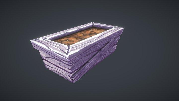 3D COAT   BOX HANDPAINT   CG SHARE   VRGAME 3D Model