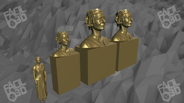 Modelos Lucille juntos 3D Model