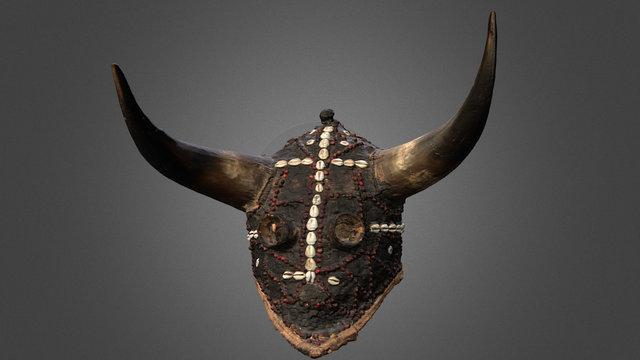 Masque d'initiation des jeunes Diola au Sénégal 3D Model