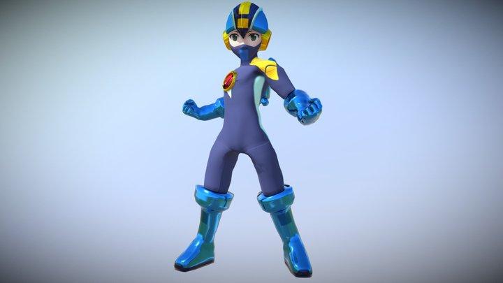 Megaman-NT (PC / Console) 3D Model