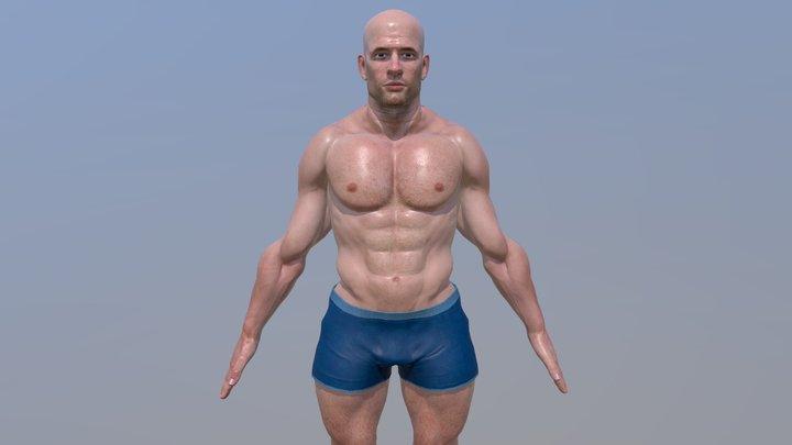 ABRAHAM 3D Model