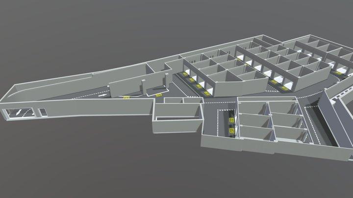 P0map 3D Model
