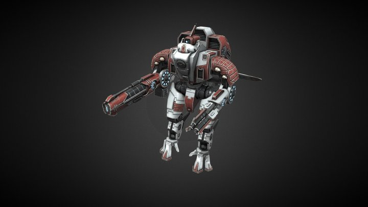 XV109 Y'varna Battlesuit 3D Model