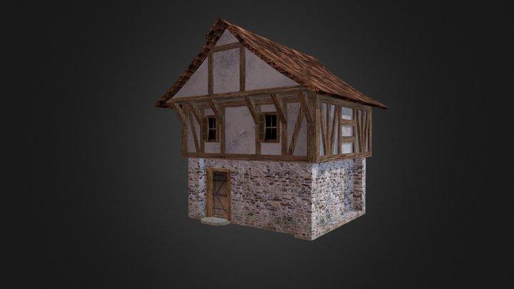 Medieval House1 3D Model