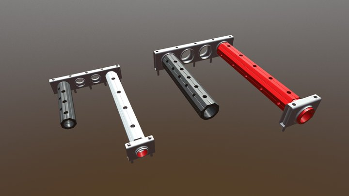 Manifolds for industrial equipment | GWI 3D Model