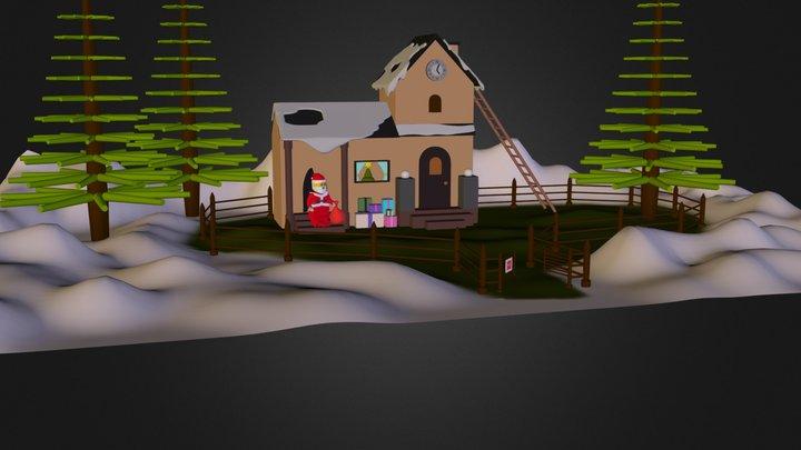 Taller de Pare Noel 3D Model