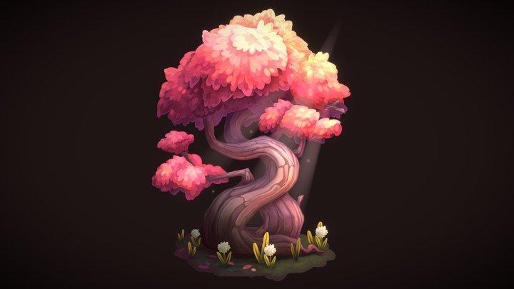 Morgan's Tree - 2.5D 3D Model