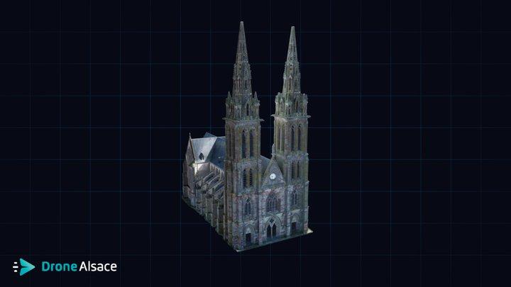Collégiale Saint-Nicolas - Munster 3D Model