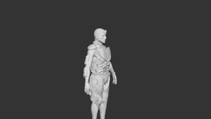 Horizon: Zero Dawn - Male Armor 3D Model