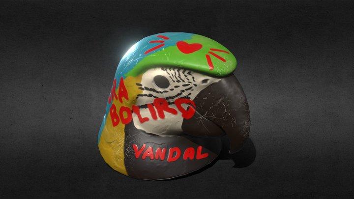 Máscara de arara 3D Model