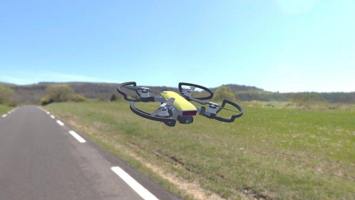 DJI Spark 3D Model