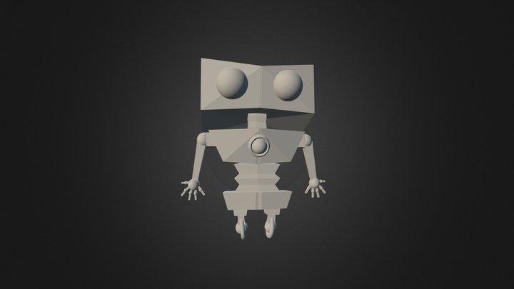 Robot4 0 3D Model