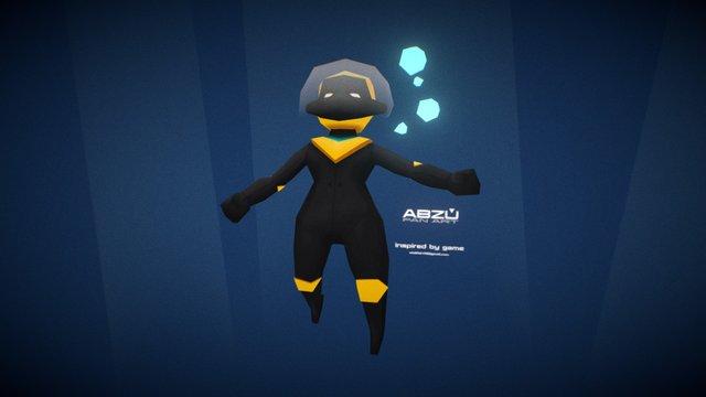 ABZU Char 3D Model