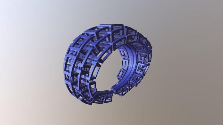 Kubusarmband-taps-M 3D Model