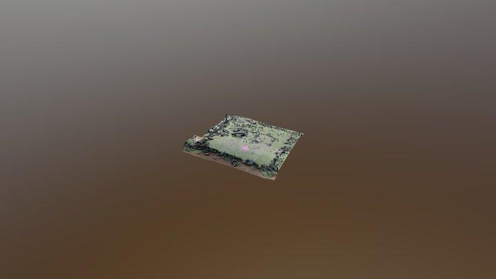 Teras Ke 3 Gunung Padang 3D Model