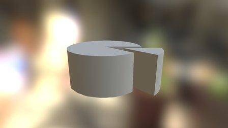 Pieza Queso 3D Model