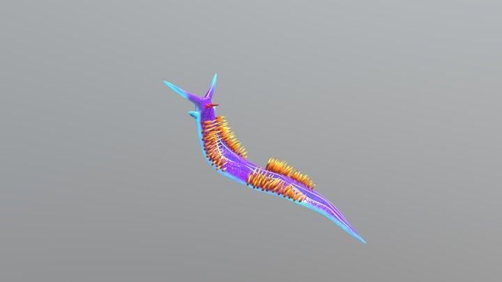 Snail_text 3D Model