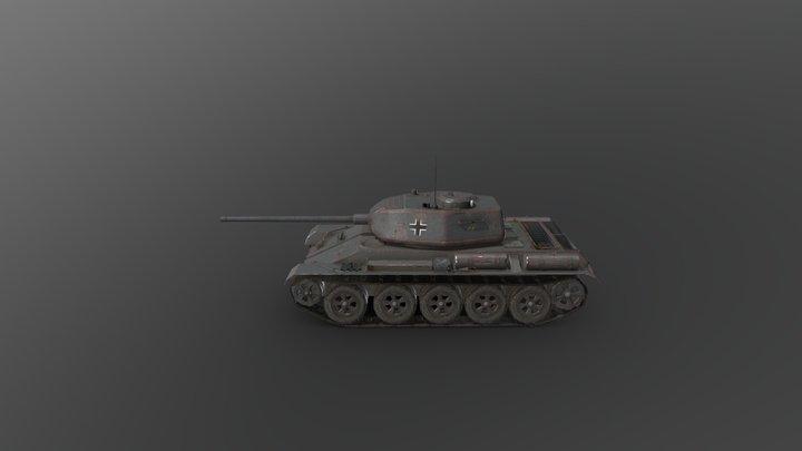 T-44 captured 3D Model