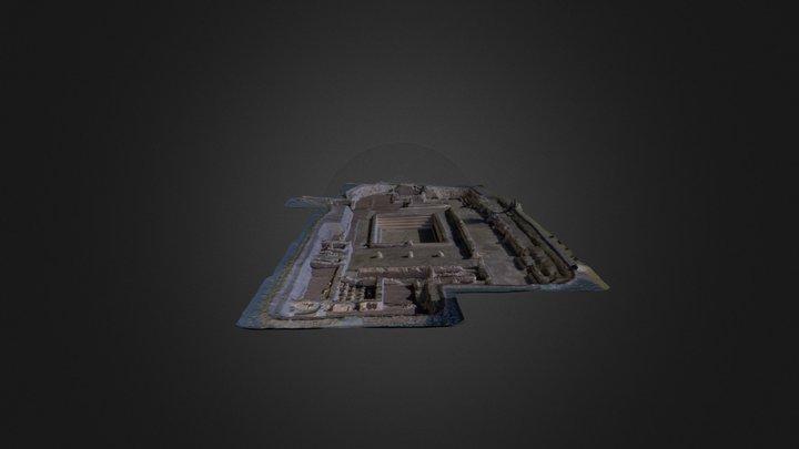 Modelo Termas Orientales de La Alcudia (Elche) 3D Model