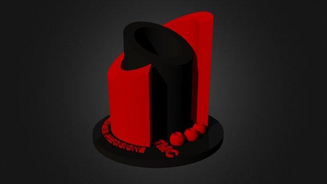 TMC black & red 3D Model