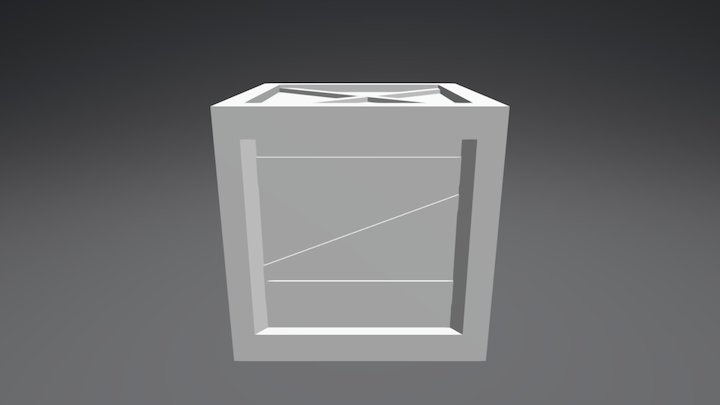 Modelagem de Elementos Game Part 3 3D Model